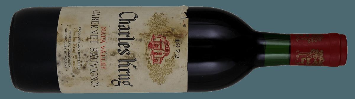 Charles Krug Wine, 1972