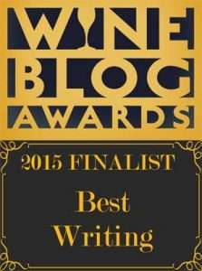 WIne Blog Awards, Finalist, 2015