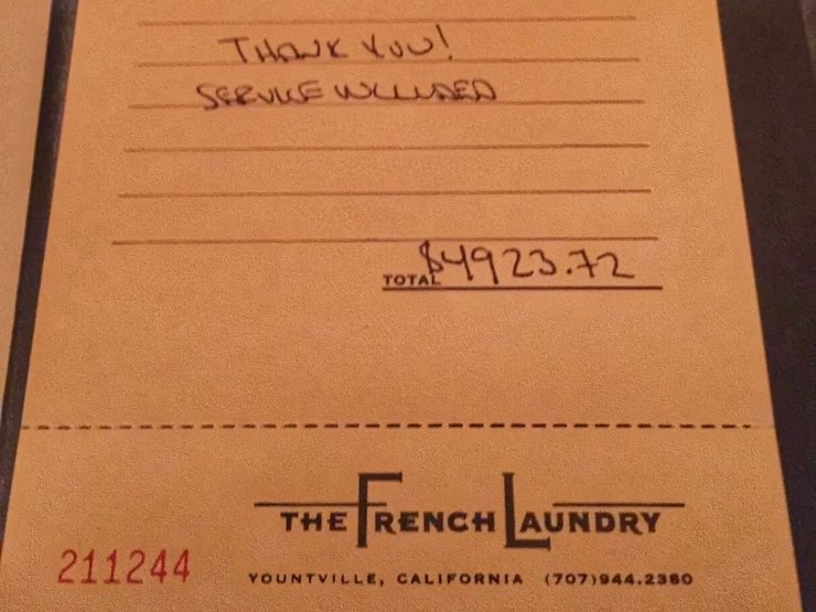 The French Laundry Expierence