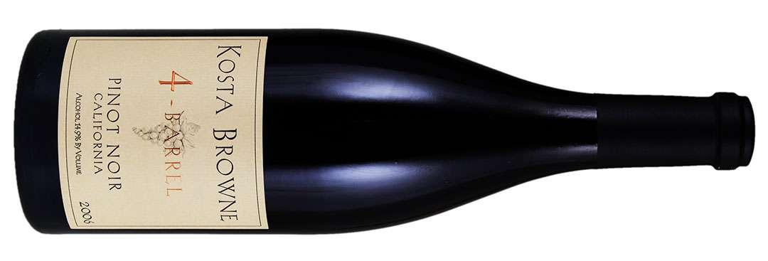 Kosta Browne, 4-Barrel Pinot Noir, 2006